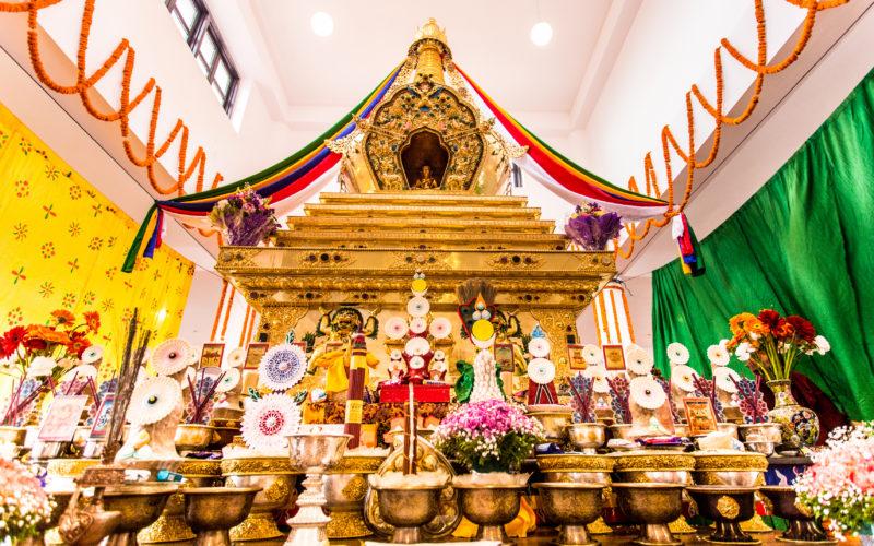 Fourth Parinirvana Anniversary Pujas of the Late 14th Shamarpa in Kathmandu