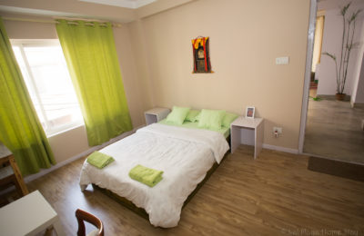 Bedroom with private bathroom – Green Tara