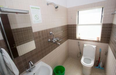 Bedroom with private bathroom – Green Tara